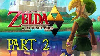 The Legend of Zelda A Link Between Worlds Gameplay Walkthrough Part 2 - Chicken Attack!