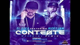 El Sica Ft. Nicky Jam - Conteste     Lirycs