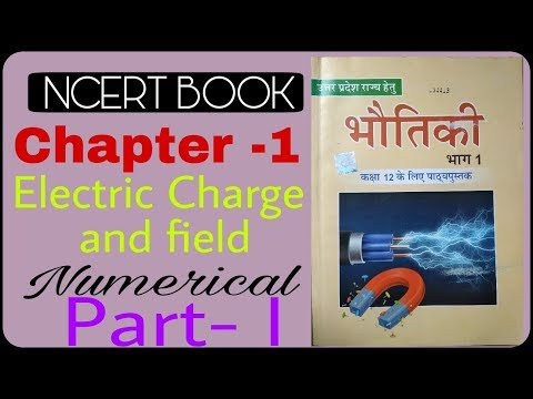 Numerical Class 12th Physics || Lesson 1 Electric Charge And Field || Physics Youtube Channels