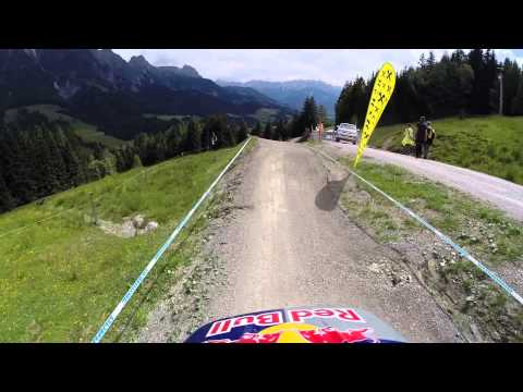 Leogang World Cup - Gee Atherton