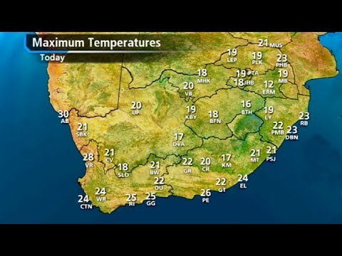 Weather Long - SA #Weather forecast | 08 July 2018 thumbnail