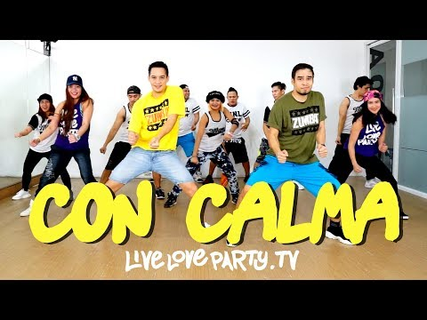 Con Calma by Daddy Yankee | Live Love Party™ | Zumba® | Dance Fitness