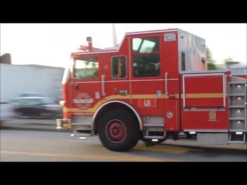 Large Seattle Fire response: E9, E35, E5, E8, A2, L6 & L9