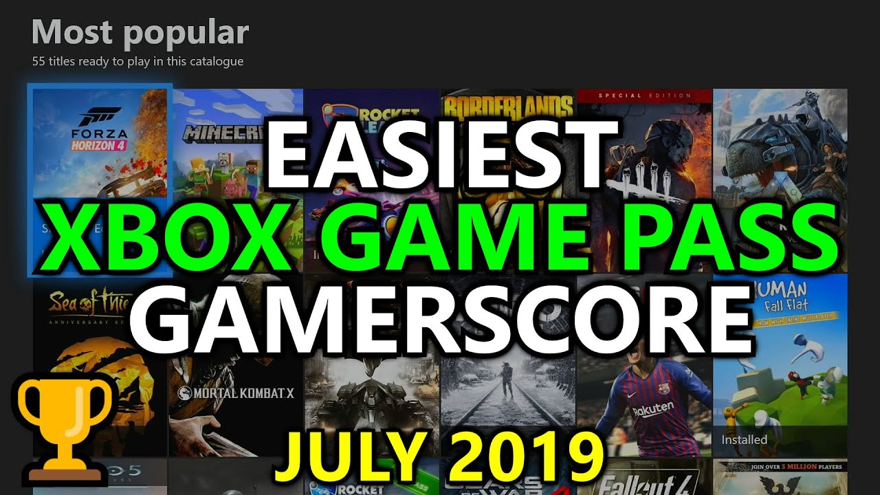 Easiest Xbox Game Pass Games For Gamerscore Achievements