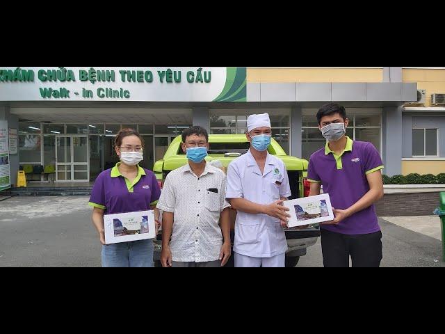DN HVNCLC tiếp tục đồng hành cùng y bác sĩ chống dịch covid