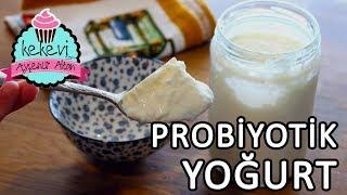 Probiyotik Yoğurt Nasıl Yapılır? Cam Kavanozda Fırında Yoğurt Mayalama | Ayşenur Altan Tarifleri