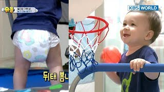Youngest basketball player wannabe William! [The Return of Superman / 2017.10.22]