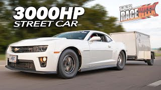3,000hp ZL1 Camaro, Trailer Burnouts, LOW 7 second Passes! (RaceWeek   Day 4)