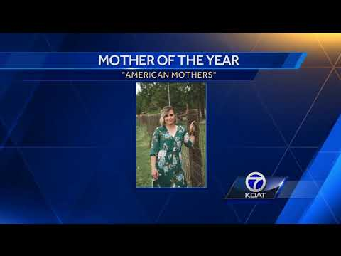 Albuquerque woman named 'Mother of the Year'