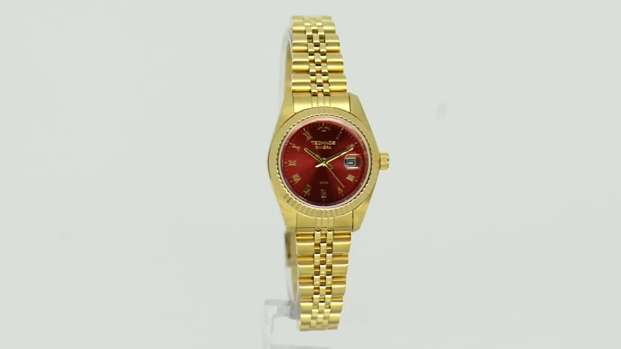 Relógio Technos Feminino Classic Riviera GL10IC 4R - YouTube 6b24e6eb1f