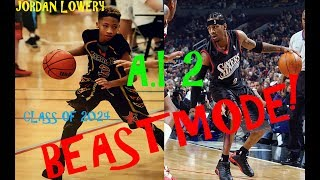 Allen iverson son 5th grade  (LIKE FATHER!!! LIKE SON!!)
