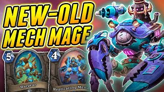 Someone tell ´em Mech Mage is Back | Wild Mech Mage | Hearthstone Rise of Shadows
