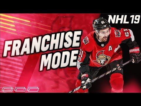 """NHL 19 Franchise Mode l Ottawa Senators #14 """"BLOCKBUSTER TRADES"""""""