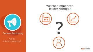 Was ist Influencer-Marketing? | In 2 Minuten zum Content-Experten