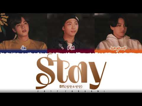 BTS – 'STAY' Lyrics [Color Coded_Han_Rom_Eng]