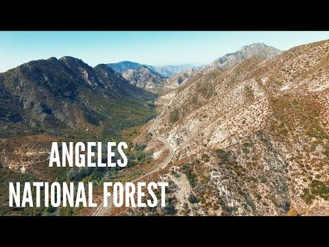 Angeles National Forest / Angeles Crest Highway A7SII / Phantom 4  / California HD