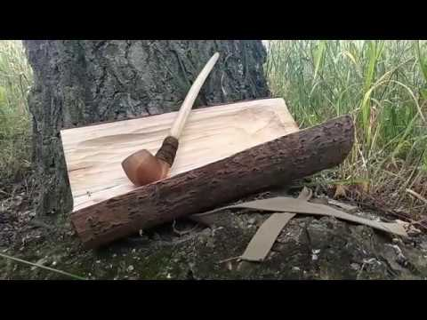 Wooden pipe making