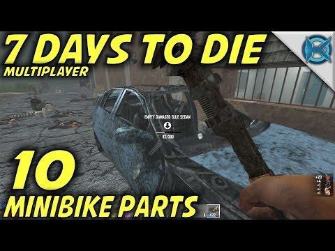 7 Days to Die | EP 10 | Minibike Parts | Multiplayer wGameEdged Let's Play | Alpha 15 (S17)