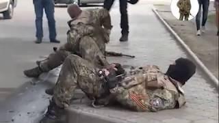 Война в Украине. Бой под Славянском, 2014 год