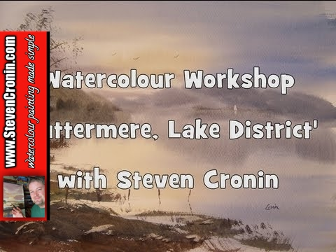 Buttermere, Lake District Watercolour Painting Demo