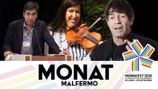 #mondafest2020 MONAT Malfermo, Keyhan kaj Amri Wandel salutas kaj aliaj