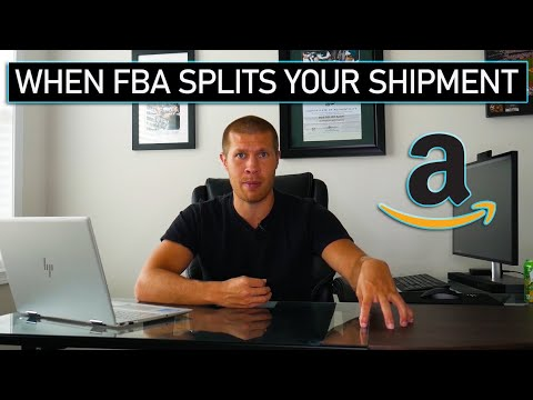 What to Do When Amazon FBA Splits Your Shipment