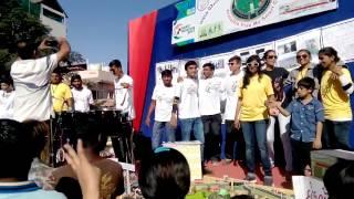 rajkot marathon 2017 full enjoy Char Bangdi Vali Gadi