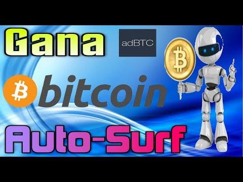adBTC Gana Bitcoins Con Auto-Surf GRATIS!! Quiero DInero