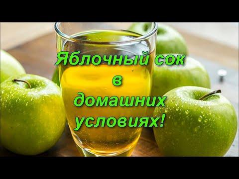Как отжать яблочный сок в домашних условиях