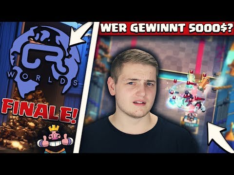 CLASH ROYALE WORLDS FINALE! | BESTES CLASH ROYALE LAND DER WELT! | 5000$ | Clash Royale Deutsch
