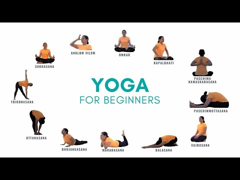 12 Must-Know Yoga Poses for Beginners | Yoga Fitness | MeriCity