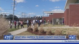 Wake Board of Elections wants guidance from State Board on redrawn districts case