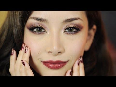 オリエンタルメイク/Oriental Holiday Look Makeup+Nails