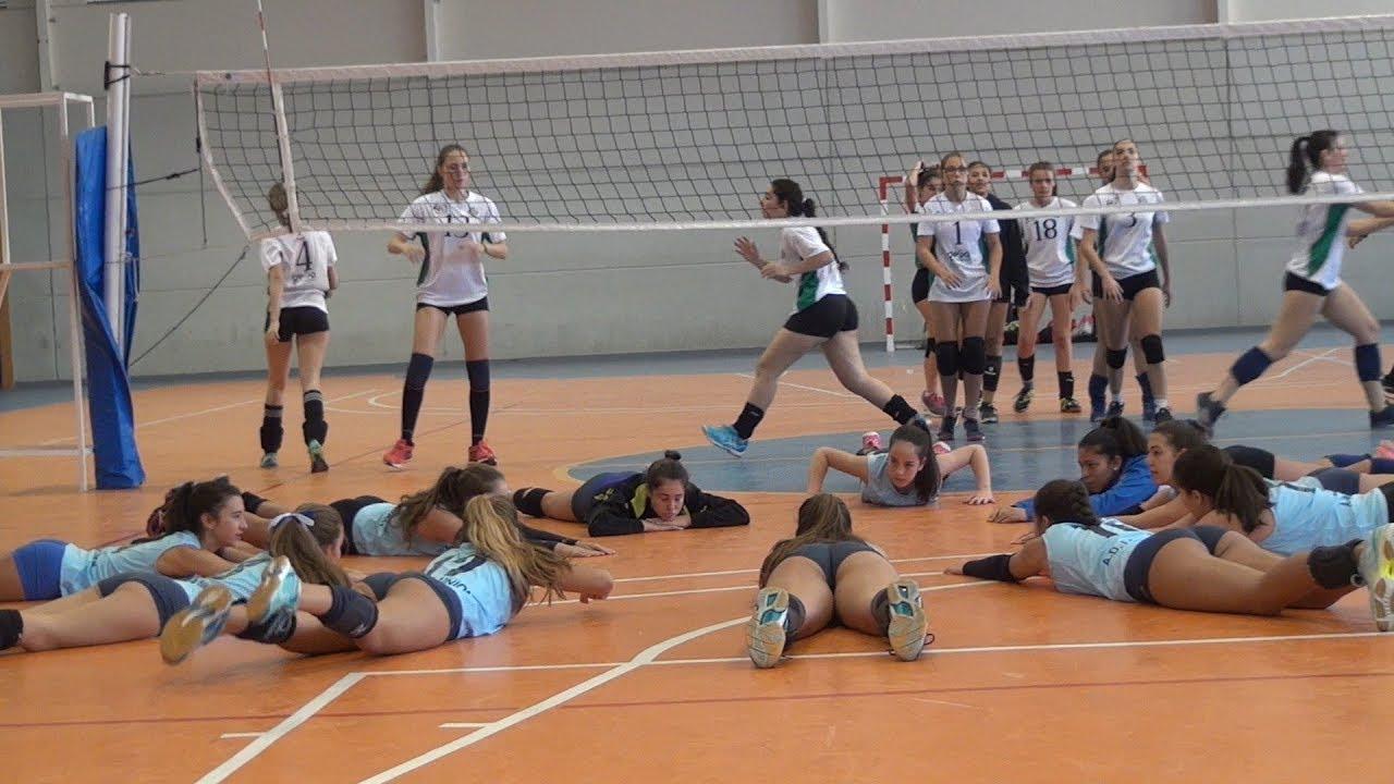 ejercicios para el desarrollo de la resistencia en el voleibol