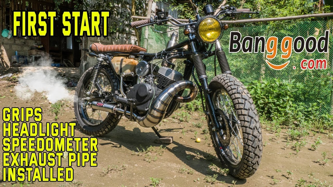 Kawasaki Hd3 2stroke Scrambler Build Part 9
