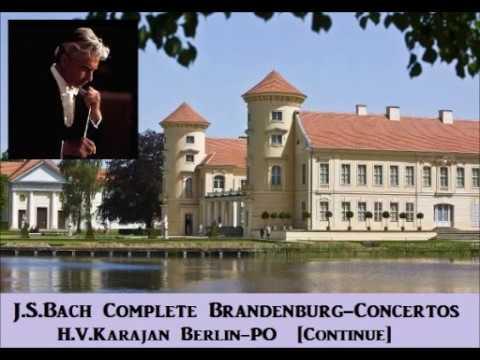 J.S.Bach Complete Brandenburg-Concertos [ H.V.Karajan Berlin-PO ] (1964~5)