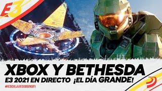 CONFERENCIA XBOX BETHESDA E3 2021 Así ha sido el STREAMING HALO INFINITE, STARFIELD, FORZA HORIZON 5