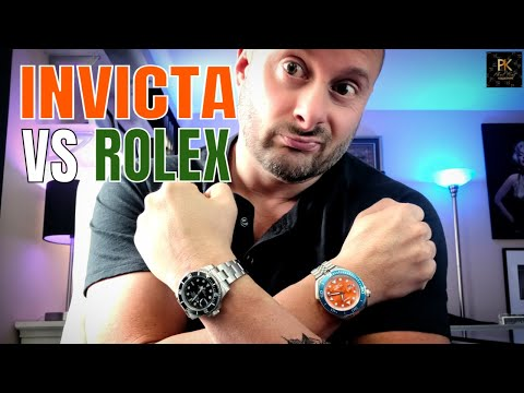 Invicta Watches vs Rolex Watches? The Ultimate Showdown