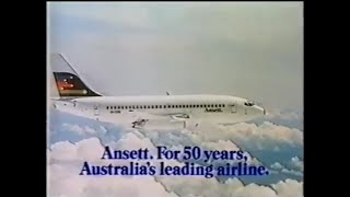 1986 Ansett Australia Commercial