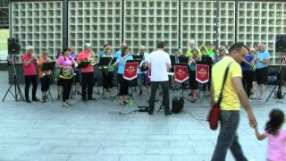 Olsenbanden - Malvik Musikkorps i Berlin 6 juni 2014