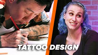 Tattoo Artist Vs. Tattoo Artist: Lyric Tattoo