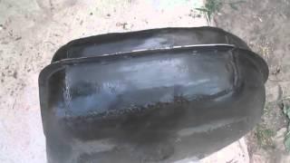видео объём бака ваз 2104