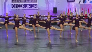 LADIES dance team - ECC 2019 (Senior Jazz, 2nd place)