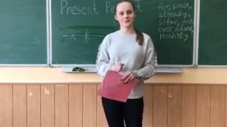 Англійська мова 9 клас. Present Perfect Tense від Ангеліни.