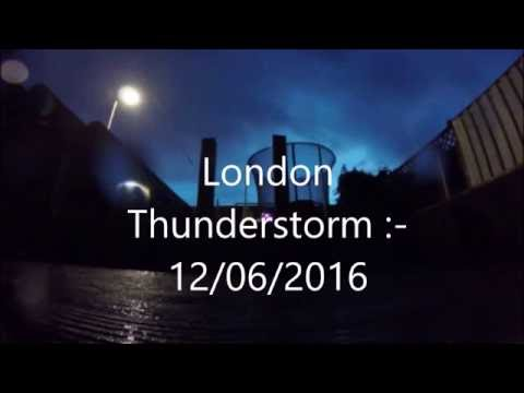 London Thunderstorm