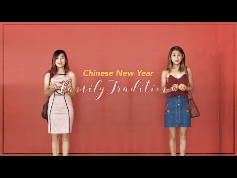 Lunar New Year Family Traditions + Outfits