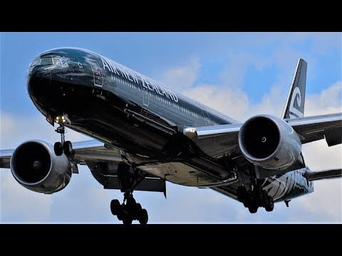 WOW! London Heathrow 60 BIG Plane Arrivals Incl. 10 A380s!