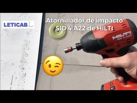 Atornilladora de impacto SID 4 A22 HILTI