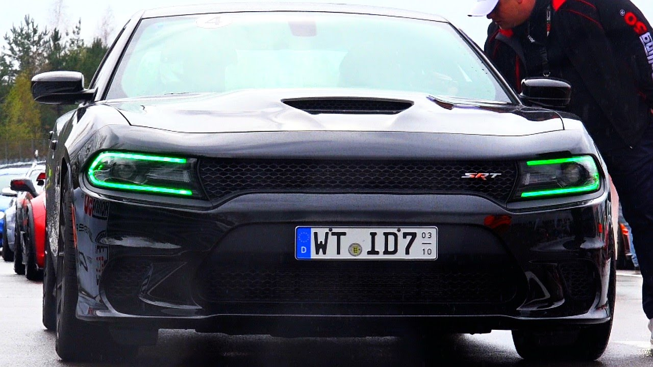 Dodge Charger Srt8 Hellcat Loud V8 Sound Acceleration