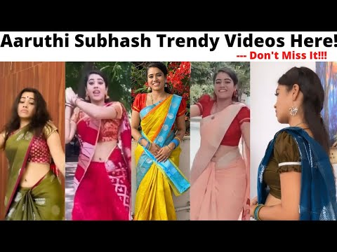 Download Sun Tv Pandavar Illam Actress Malliga Video   Tamil Serial Actress Aarthi Subhash   Trendy Now